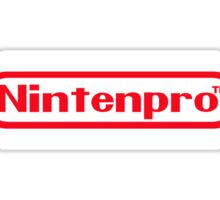 Nintenpro Video Gamer Sticker