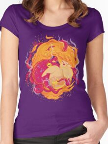 I'm on fire Women's Fitted Scoop T-Shirt
