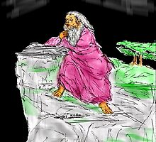 MOSES ON MOUNT NEBO by Semmaster