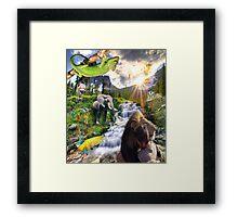 paradise - new world Framed Print