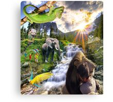 paradise - new world Canvas Print