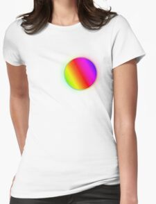 RainbowBubble T-shirt Womens Fitted T-Shirt