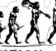 Evolution of Rock Sticker