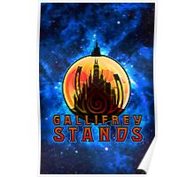 Gallifrey STANDS Poster