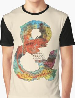 Psychedelic Ampersand Graphic T-Shirt