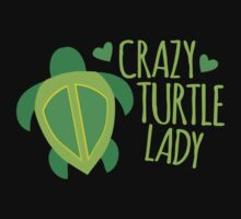 Crazy Turtle Lady by jazzydevil