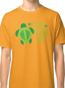 Crazy Turtle Lady Classic T-Shirt