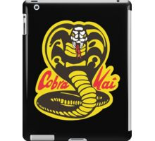 The Karate Kid - Cobra Kai Logo iPad Case/Skin