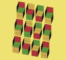 Cube Optical Illusion (As worn by Sheldon Cooper) by designCENTRAL