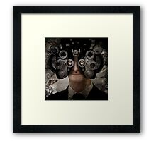I don't see dead people Framed Print