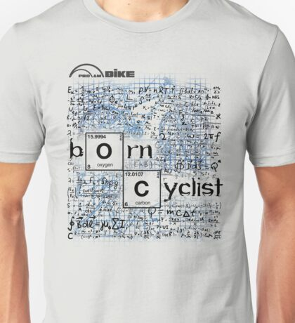 Cycling T Shirt - Born Cyclist Unisex T-Shirt