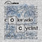 Cycling T Shirt - Colorado Cyclist by ProAmBike