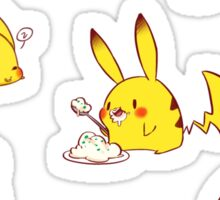 Pika Chews Sticker
