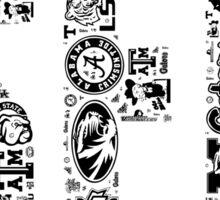 SEC with Logos Sticker