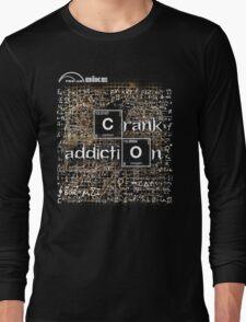 Cycling T Shirt - Crank Addiction Long Sleeve T-Shirt
