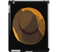 Straw Hat iPad Case/Skin