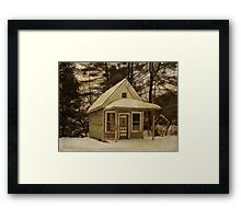 Summitville Post Office Framed Print