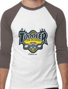Toddler on board! Men's Baseball ¾ T-Shirt