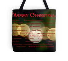 I Want to Wish You A Merry Christmas Tote Bag