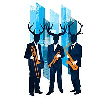 Horn Section Photographic Print