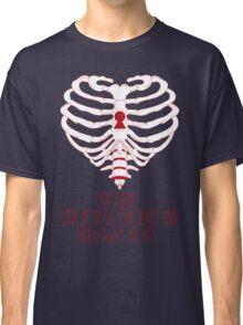 Bring Me The Horizon Rib Heart Red Classic T-Shirt