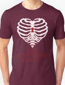 Bring Me The Horizon Rib Heart Red Unisex T-Shirt