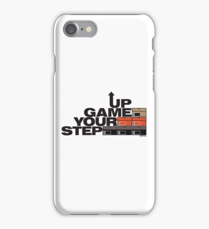 Step Your Game Up Sneakerhead by AiReal Apparel iPhone Case/Skin