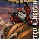 Steampunk Santa Claus by Patrick Scullin