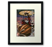 Steampunk Santa Claus Framed Print