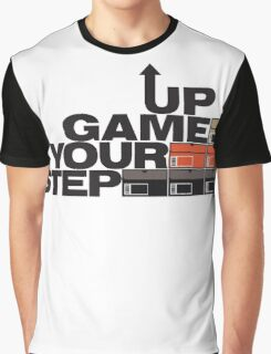 Step Your Game Up Sneakerhead by AiReal Apparel Graphic T-Shirt
