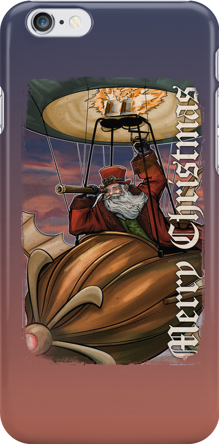 Steampunk Santa Claus by Patrick Scullin