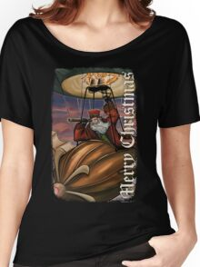 Steampunk Santa Claus Women's Relaxed Fit T-Shirt