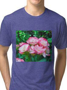Pink Blossoms Tri-blend T-Shirt