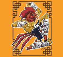 Muay Thai Rooster T-Shirt