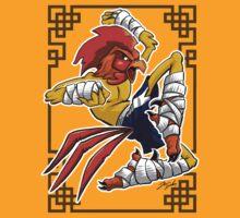 Muay Thai Rooster by cowboyreddevil