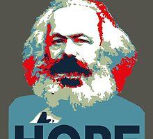 Karl Marx Hope 2016 by Synastone