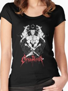 CAPRA DEMON Women's Fitted Scoop T-Shirt