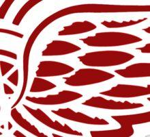 Detroit Red Wings Logo Sticker