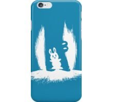 Bunny and crocs iPhone Case/Skin