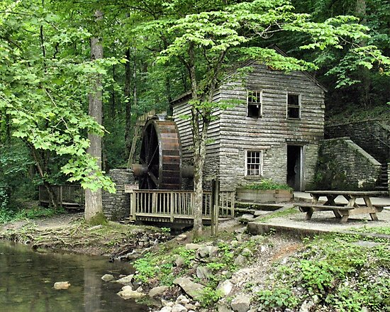 """""""Rice Grist Mill""""... prints and products by © Bob Hall"""