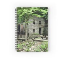 """Rice Grist Mill""... prints and products Spiral Notebook"