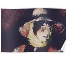 Window Dressing Mannequin  Portrait Poster