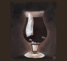 Dark Beer in Tulip Glass Porter Stout Unisex T-Shirt