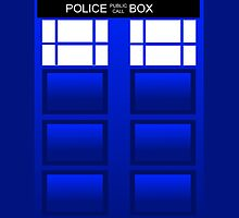Doctor Who Tardis Icon IPad Case by noster3000