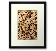 Cookies. Framed Print