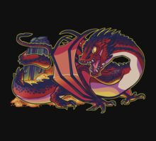 Smaug the terrible One Piece - Short Sleeve