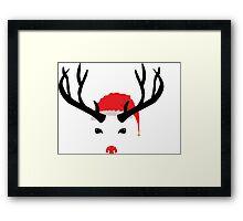 Cristmas reindeer Framed Print