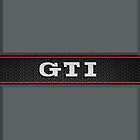 GTI Phone & iPad case - grey by Benjamin Whealing