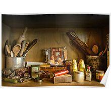 Kitchen utensils ~ No 1 Poster