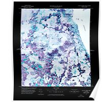 USGS Topo Map  Vermont VT East of North Troy Station 337756 1978 25000 Inverted Poster